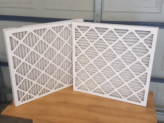 Disposable Cardboard V form Panel Filters – Multichoice Filters